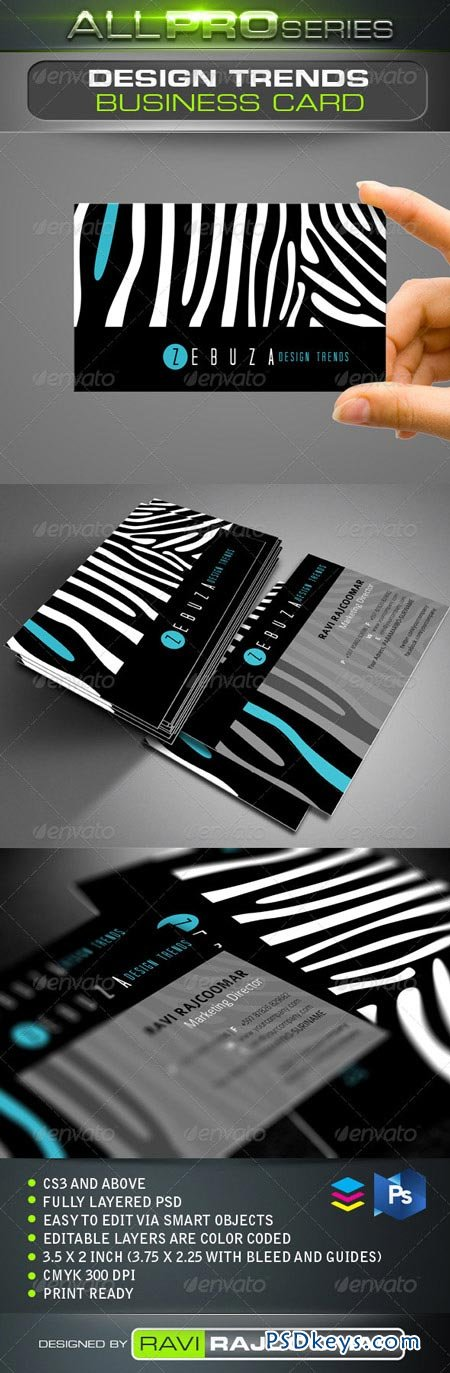 Design Trends Business Card 3476655