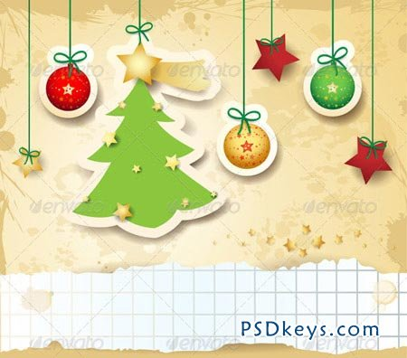 Christmas Card with Copyspace 3521009