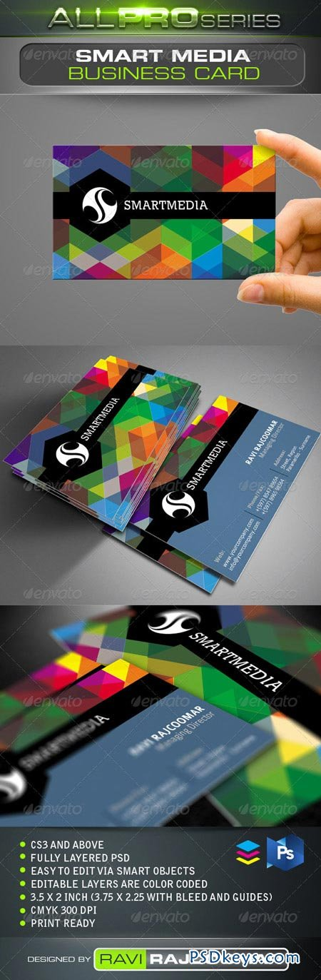 Smart Media Business Card 3476657