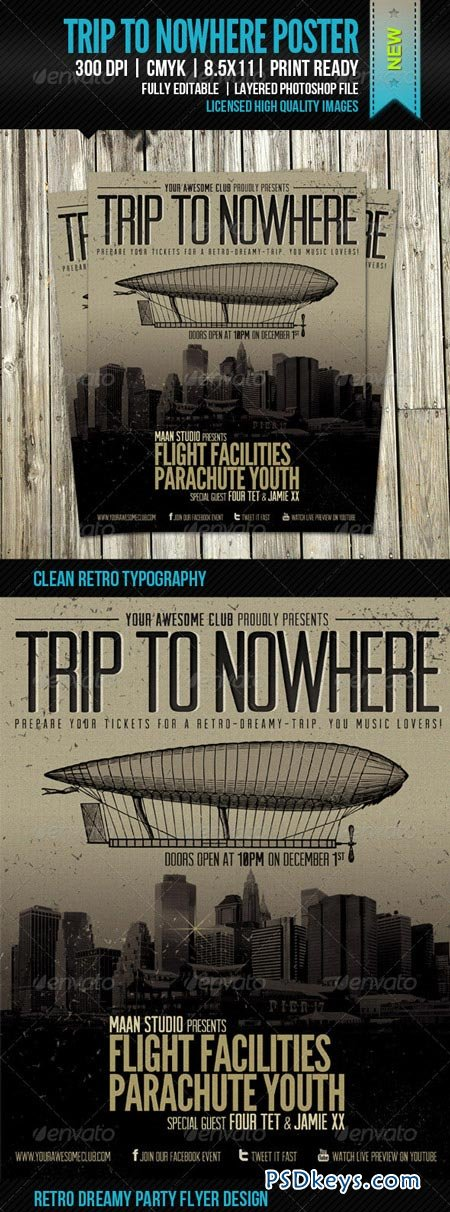 Trip To Nowhere Poster 3476411