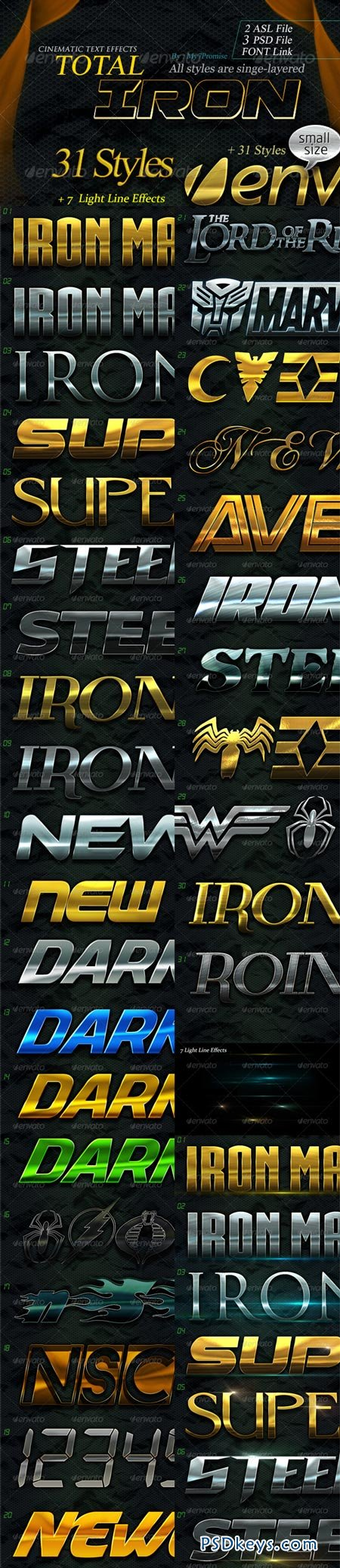 31 Total Iron Text Effects 6322899