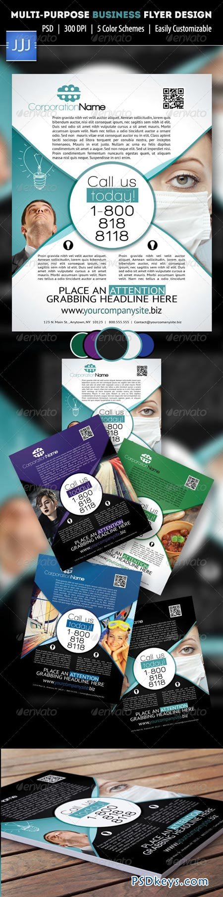 GraphicRiver Multipurpose Business Flyer 2