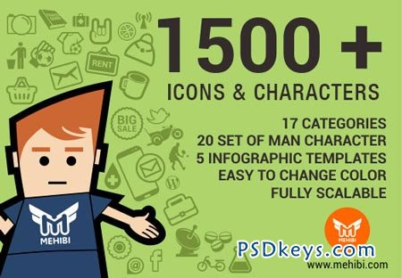 Icons Ninja Bundle Over 1500 Vector Icons + Bonus