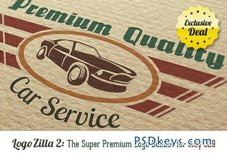 LogoZilla 2 The Super Premium Logo Builder + Bonus