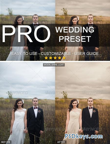 Warm Wedding Lightroom Professional Preset 6043147