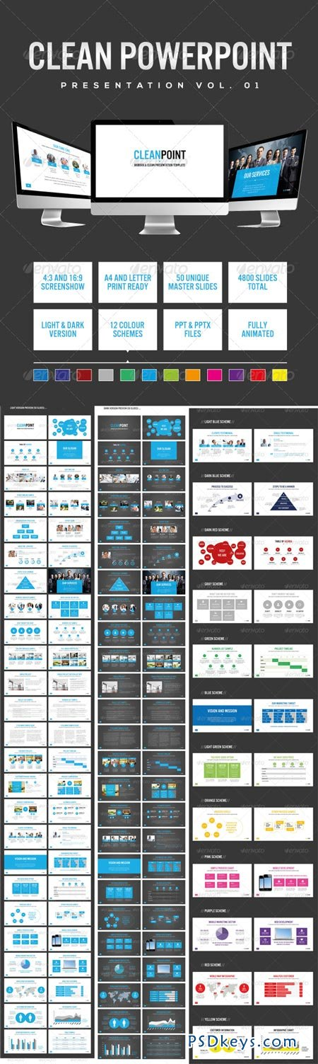 50 Slides Presentation (Vol. 01) 6494920