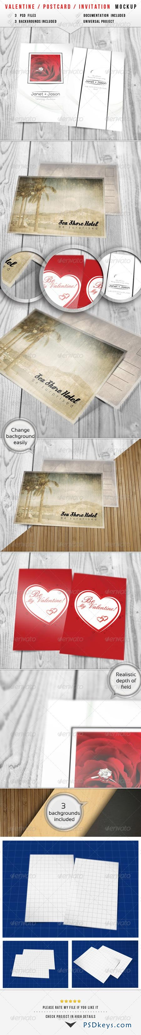 Valentine Invitation Mockup 2 6481688