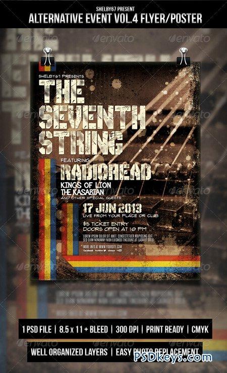 Alternative Event Flyer Poster Vol 4 4955956 » Free Download