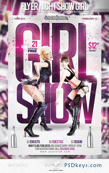 Flyer Night Show Girls 6459756