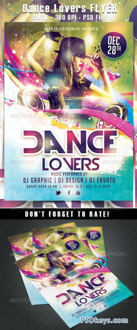 Dance Lovers Flyer 6469870