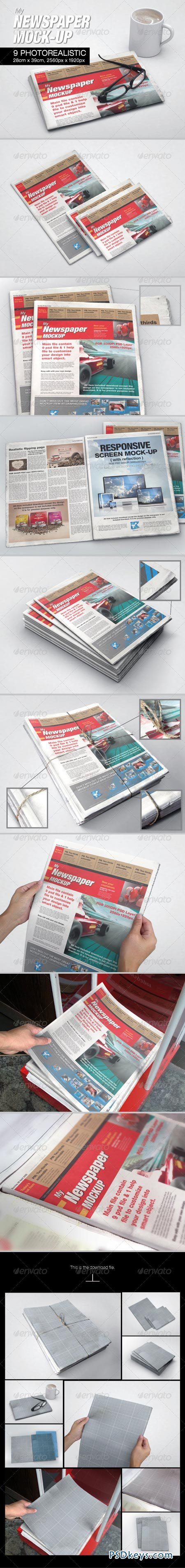 MyNewspaper Mock-up 6533964