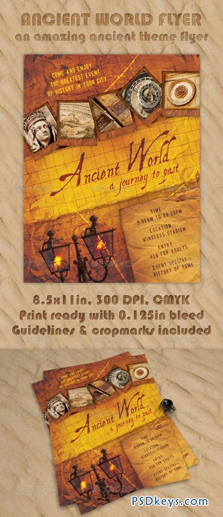 Ancient World Flyer 224672