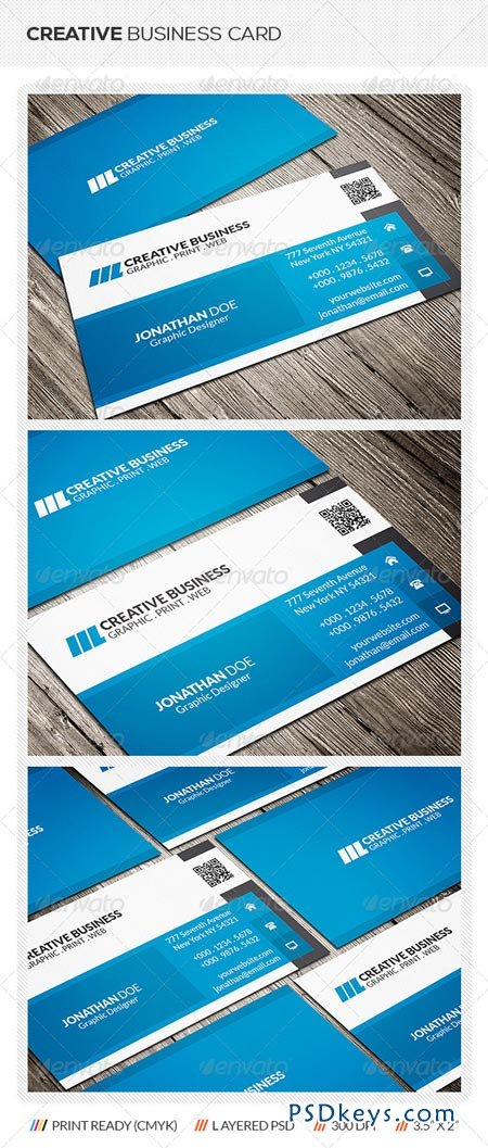 Modern Corporate Business Card 6416054