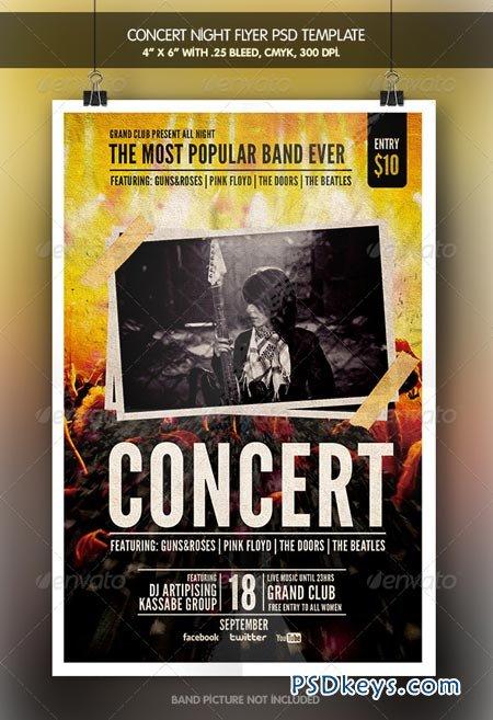 Concert Night Flyer 6556439