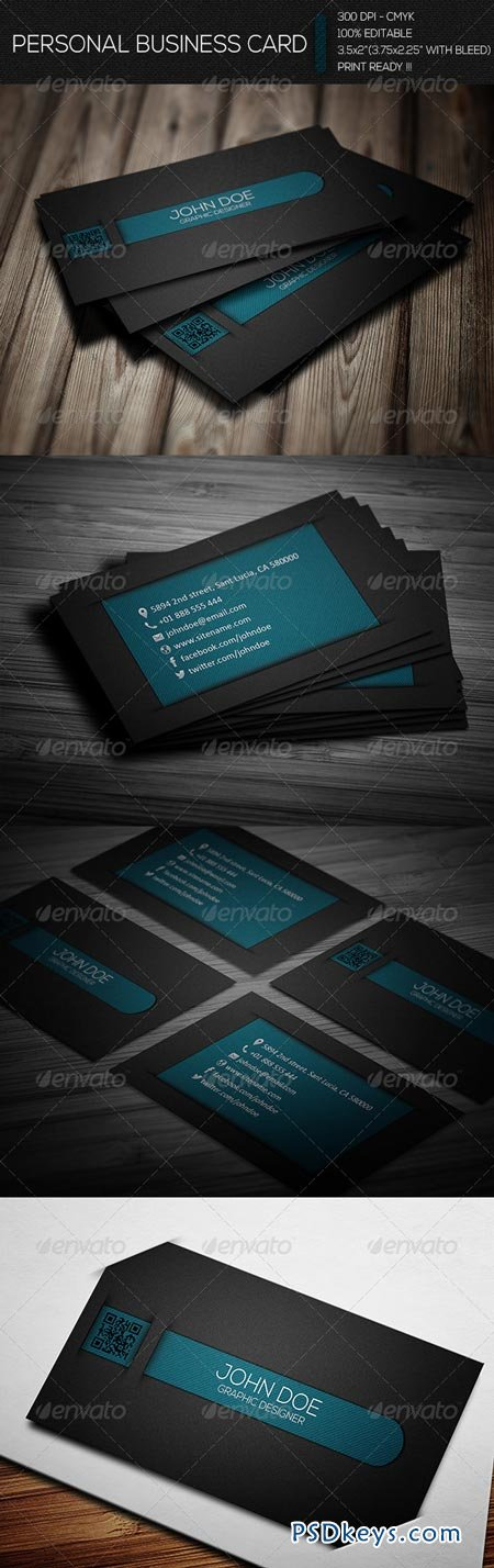 Creative Personal Business Card 6665934