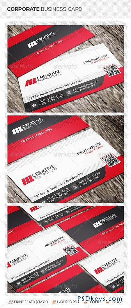 Modern Corporate Business Card 6666219