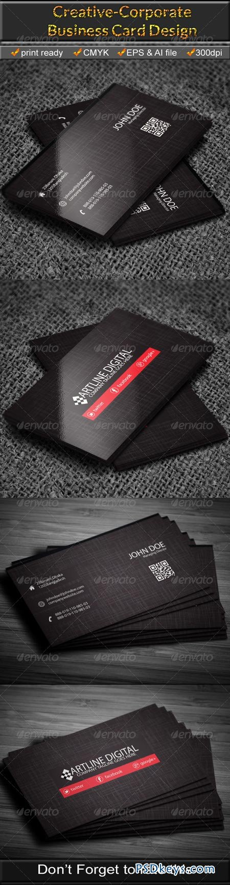 Corporate Business Card 6675007