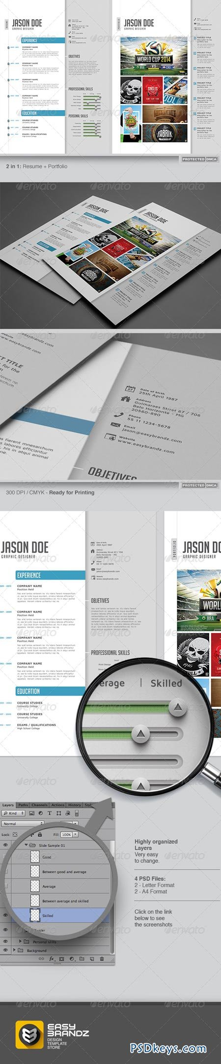 resume  u0026 portfolio template 6674598  u00bb free download photoshop vector stock image via torrent