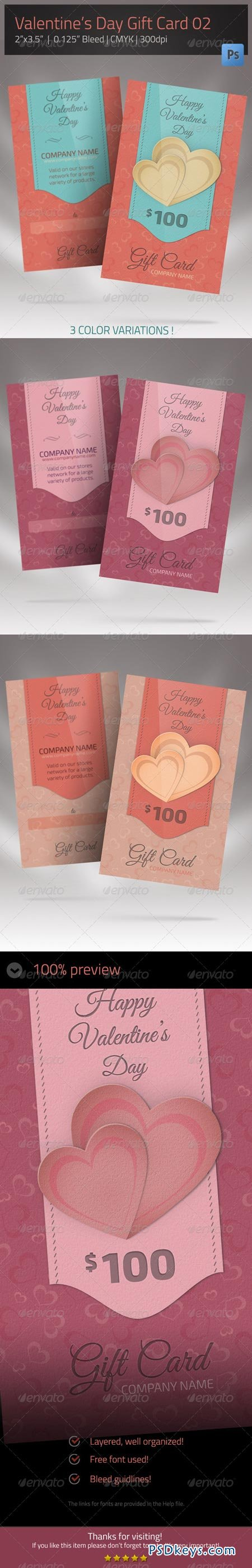 Gift Card for Valentines Day 02 6674189