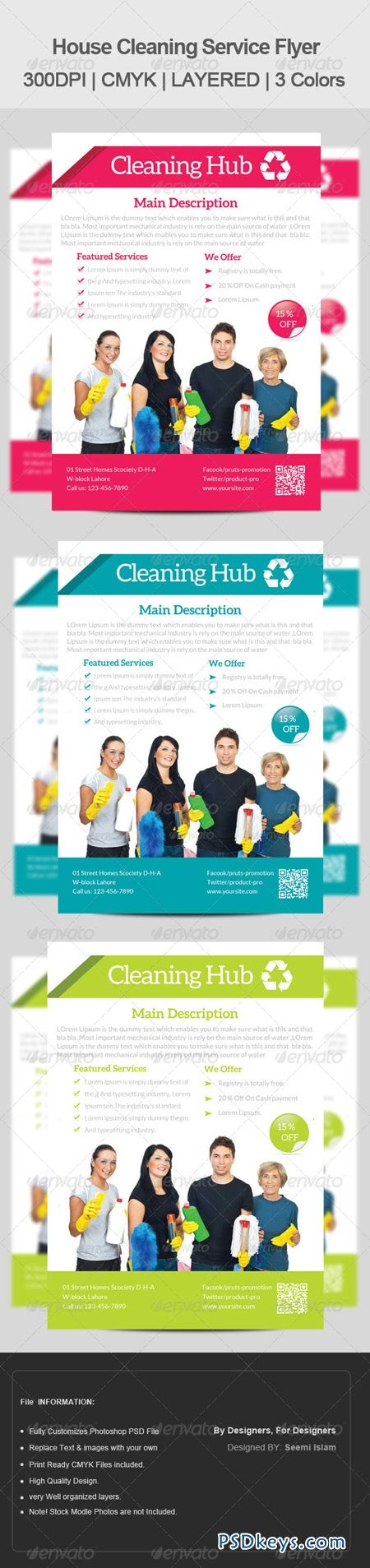house cleaning services flyer template  house cleaning services flyer template 6680889