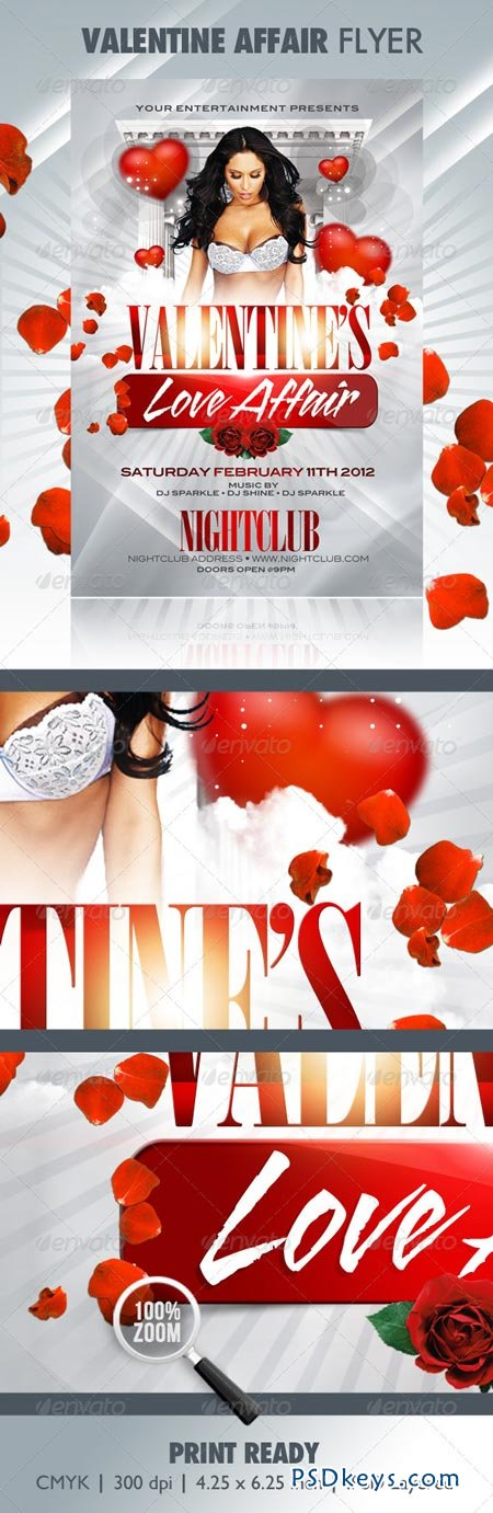 Valentine Affair Party Template 1251781