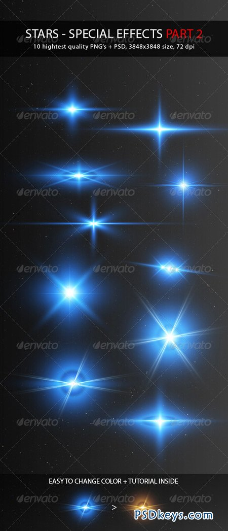Stars - Special Effects Pack 2 5084391 » Free Download Photoshop