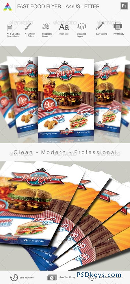 Fast Food Flyer I 3354947