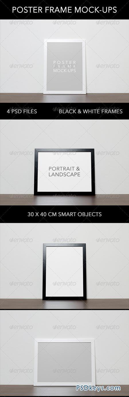 Poster Frame Mock-ups 6782753