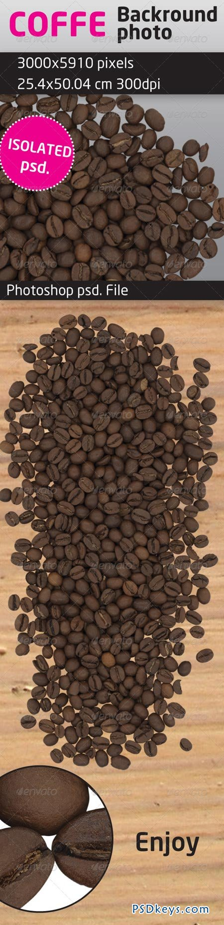 Coffee Beans Isolated Backround 1127683