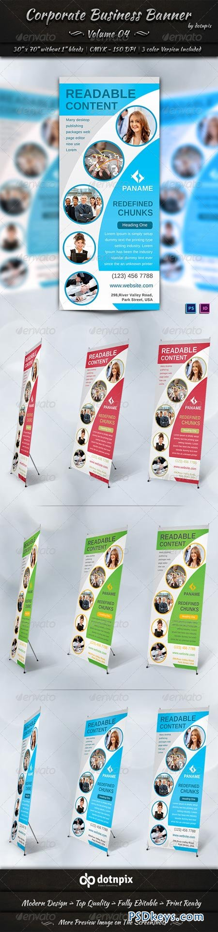 Corporate Business Banner Volume 4 6899016