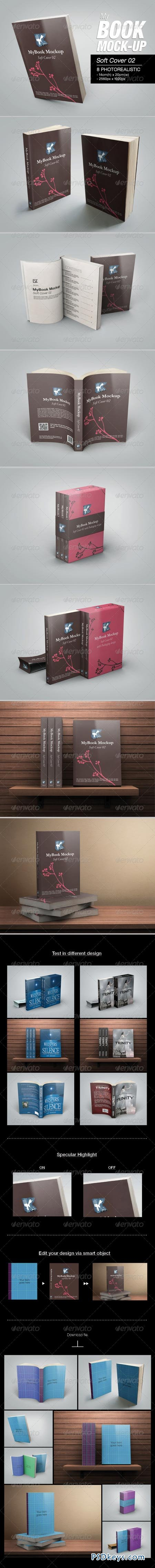 MyBook Mock-up - Soft Cover 02 6828697
