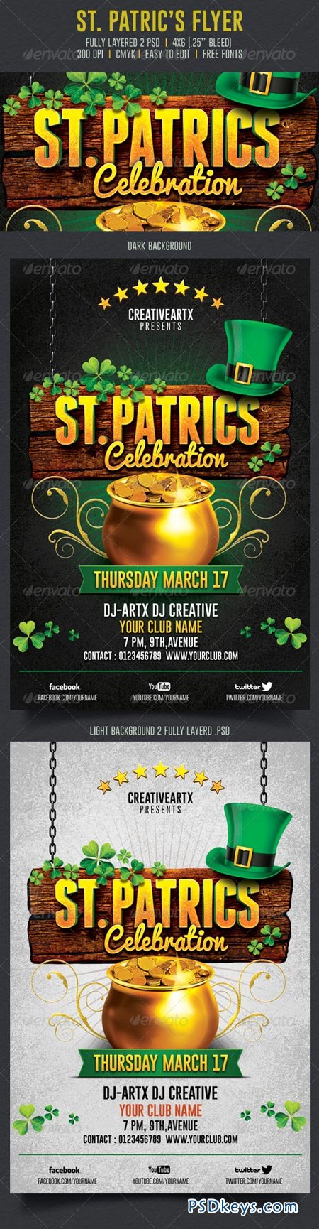 St. Patrick's Celebration Flyer 6904898