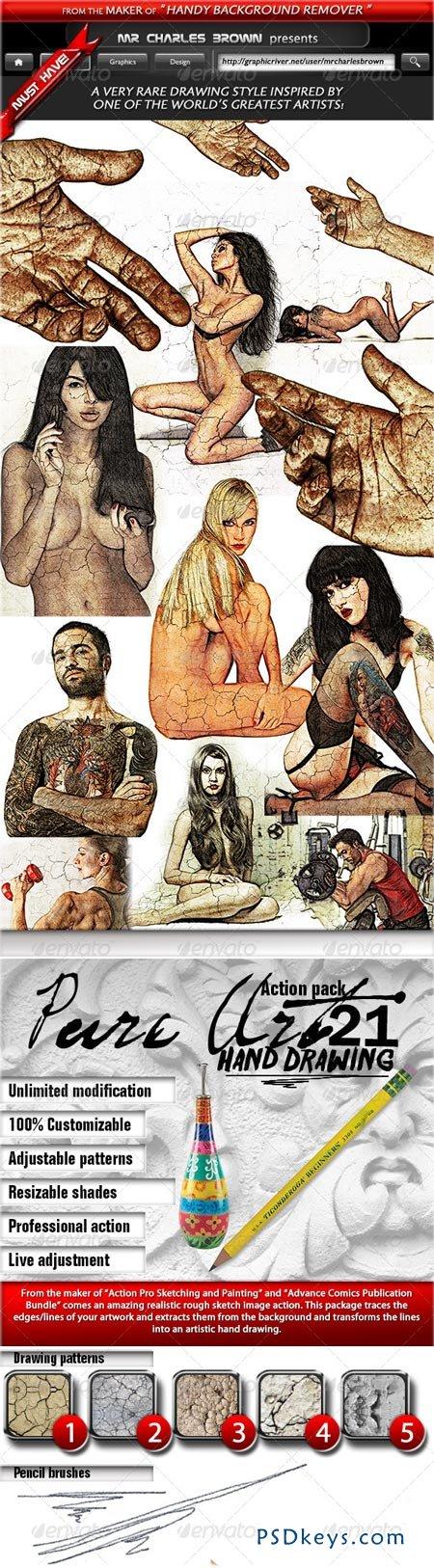 Pure Art Hand Drawing 21 – Good MicAng Art Replica 5117758