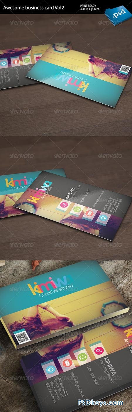 Awesome business card Vol2 6719024