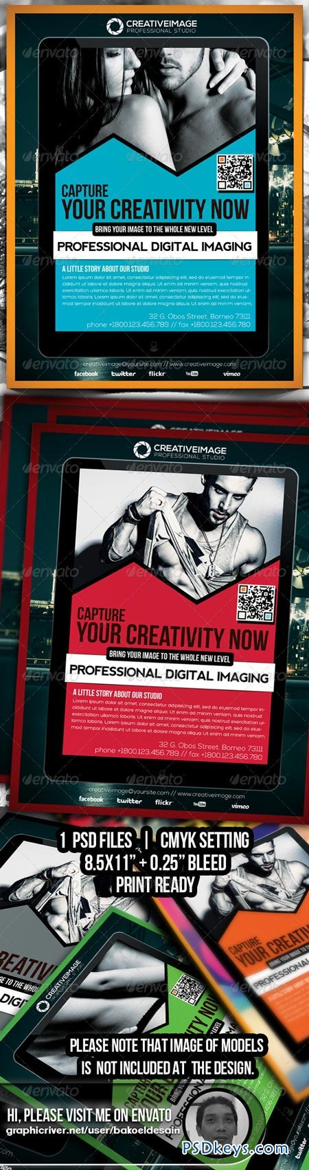 Creative Image Studio Flyer 6898187