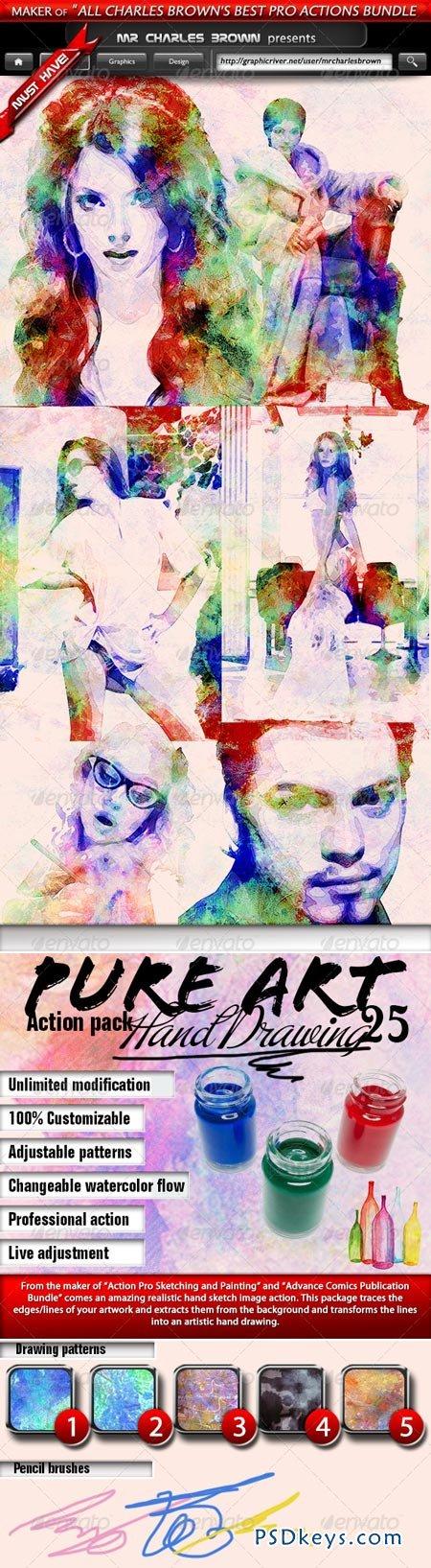 Pure Art Hand Drawing 25 – Arabian Watercolor Art 5225130