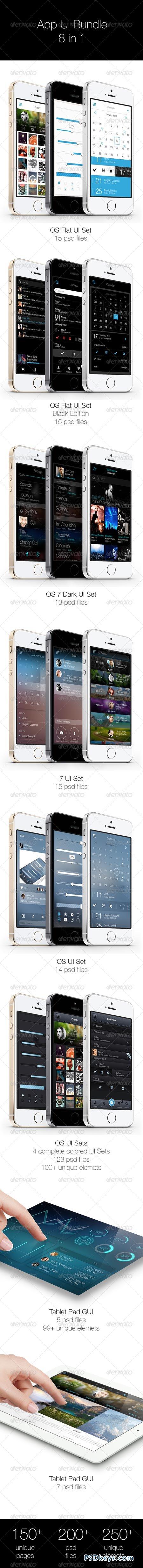 App UI Bundle 8 in 1 6884520