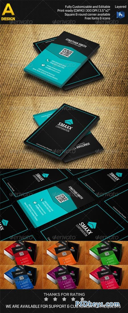 Corporate Business Card AN0216 6913567