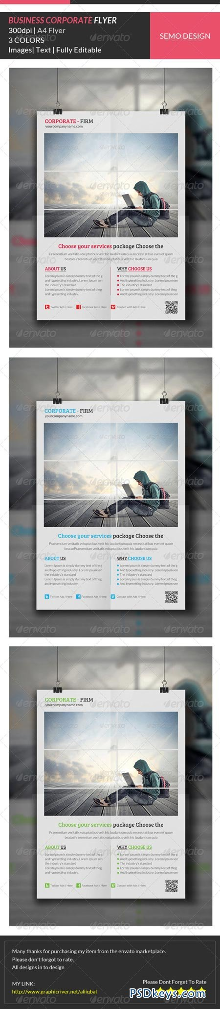 Business Corporate Flyer Template 6913578