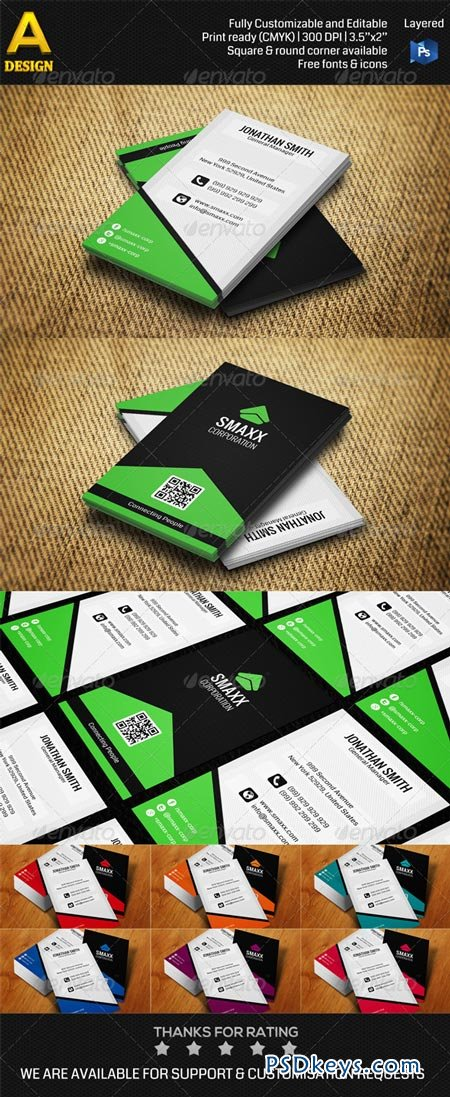 Corporate Business Card AN0178 6912958