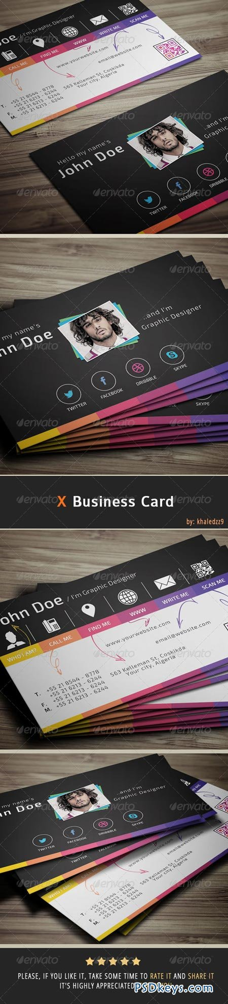 X Business Card 6848741