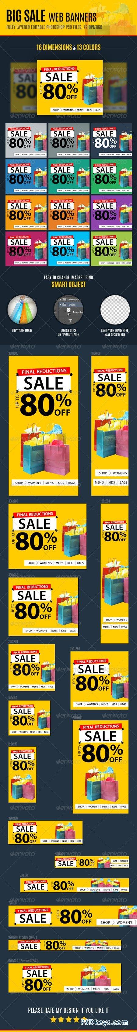 Big Sale Web Banners 7039924