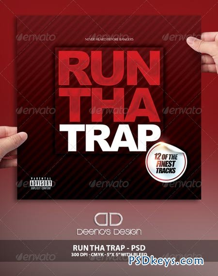 Run Tha Trap Album Cover 6942978