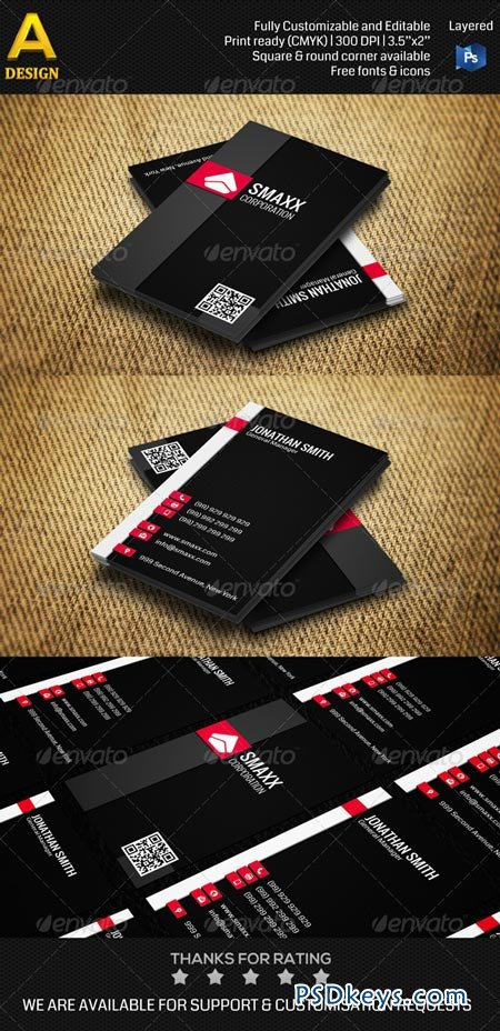 Corporate Business Card AN0244 6949447