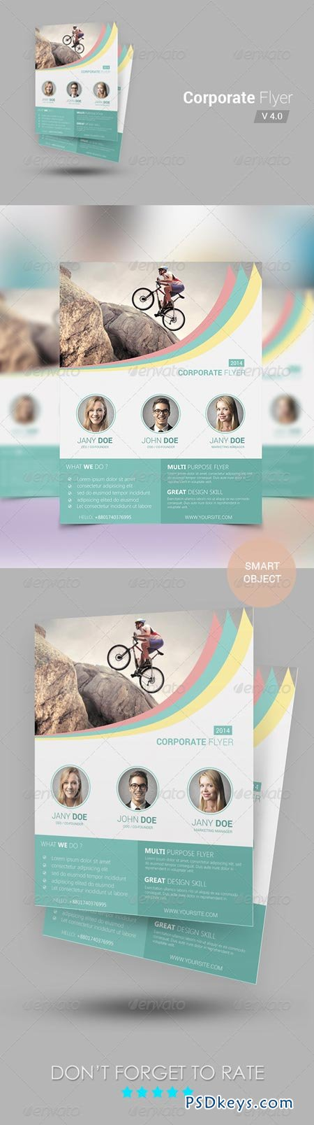 Corporate Flyer Template 6949361
