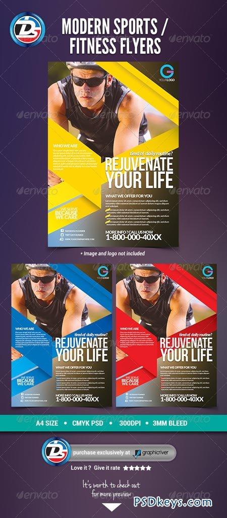 modern sports fitness flyers 6949429 free download photoshop vector stock image via torrent. Black Bedroom Furniture Sets. Home Design Ideas