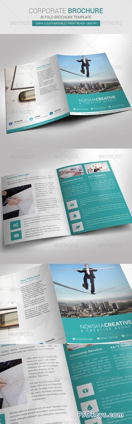 Corporate Bi Fold Brochure 6949428