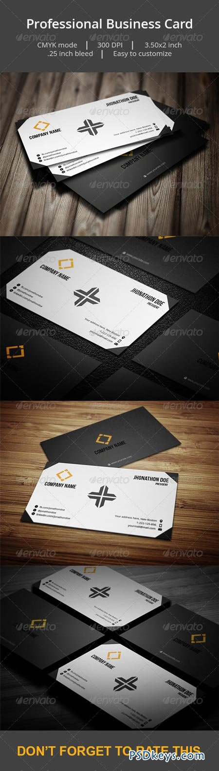 Professional Business card 6951771