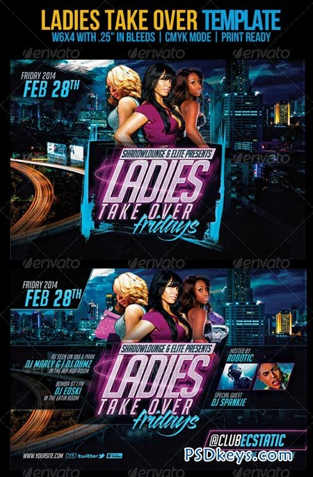 Ladies Take Over Flyer 6951885