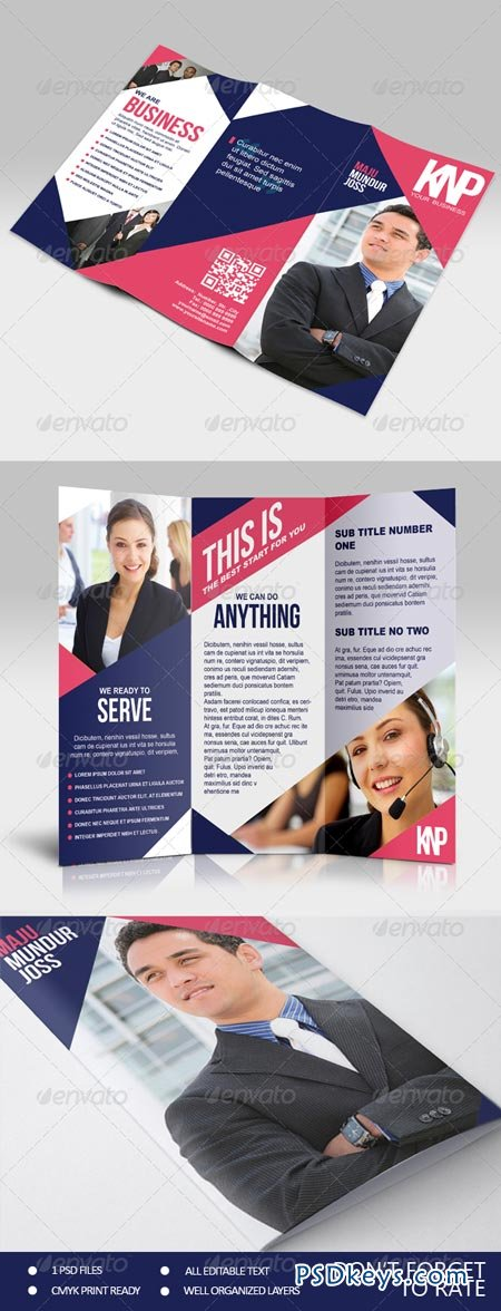 KNP - Multipurpose Trifold Brochure 6951651